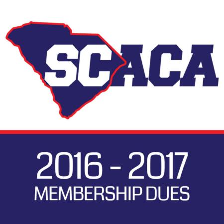 SCACA 2016–2017 Membership Dues